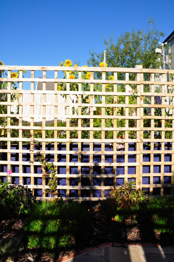 moorish garden fence